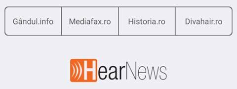"""Persoanele cu deficienţe de vedere pot accesa ştiri în timp real prin aplicaţia """"Hear News"""""""
